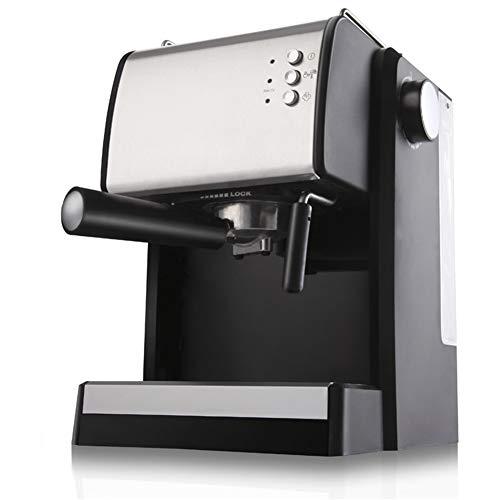 Hebry Kaffeemaschine Espresso, Italienische Kaffeemaschine Kommerzielle Pumpe Typ Kleine Automatische Frisch Gemahlenen Kaffee Milchschaum Maschine Nach Hause -