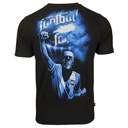 Extreme Hobby Fanswear T-Shirt. Football Fans T-Shirt. Blue. Fußballfan. Hooligan. Football Fanatics. Casual (Größe Medium) (T-shirt Herren Beste Hobby)