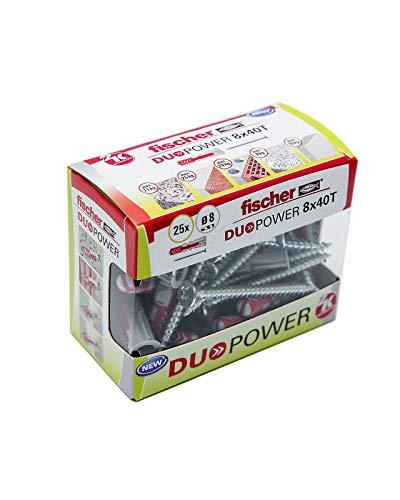 Fischer - Taco Duopower 8X40 S/ Caja Brico