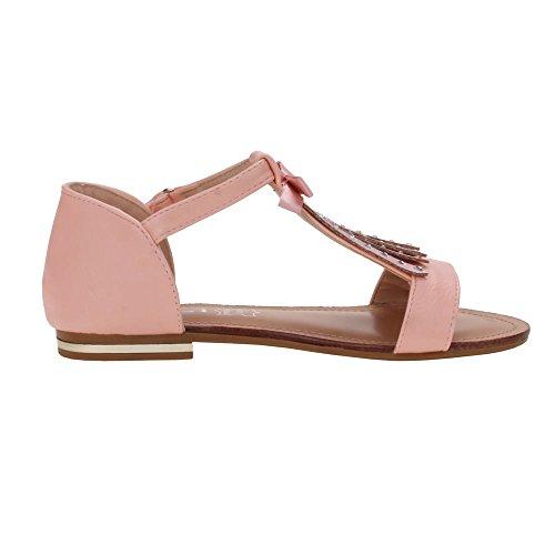 Chaussures pour fille, l- 229–1, sandales Rose - Rosa S