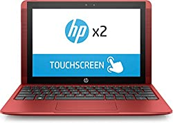 "Hp X2 10-p010na, 1ap69ea#abu - 10.1"" Touchscreen Laptop & Tablet(cardinal Red) Intel Atom X5-z8350 1.92 Ghz Turbo Processor, 4gb Ram, 500gb Hdd, (1280x800) Hd Display, Windows 10"