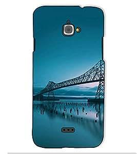 Fuson Designer Back Case Cover for InFocus M350 (Bridge on the sea)
