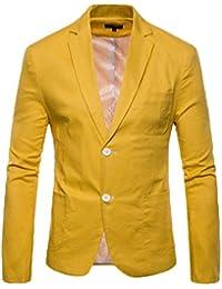 Magideal Camisas Vestir Sólidos Hombres Casual Formal Slim Fit Trajes Tela Suave Regalo Novio
