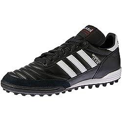 Adidas Mundial Team, Scarpe da Calcio Uomo, Nero (Black/Running White Ftw/Red), 43 1/3 EU