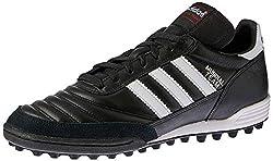 adidas Unisex-Erwachsene Mundial Team Fußballschuhe, Schwarz (Black/Running White Ftw/Red), 46 EU