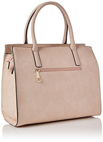 Swanky Swans - Ross Bow Detail Smart Bag, Borse a spalla Donna Rosa (Pink)