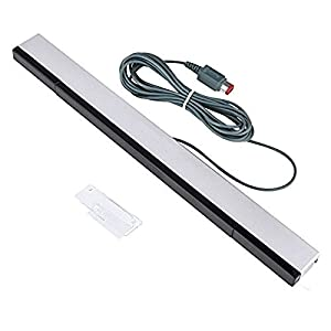 Motion Sensor Bar,Bigaint Wired Infrared IR Ray Motion Controller for Nintendo Wii and Wii U Console