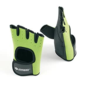 Schildkröt Fitness Paire de gants fitness Vert-Citron M