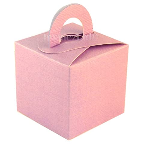 10 Pack of Cute Favour Gift Boxes in Light Pink *REDUCED TO CLEAR*