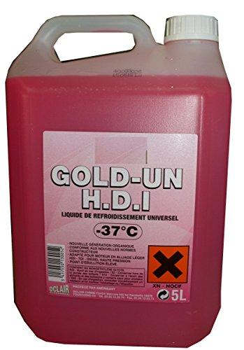 TOPCAR Bidon de 5 litres de Liquide de Refroidissement -37°C 0005002013