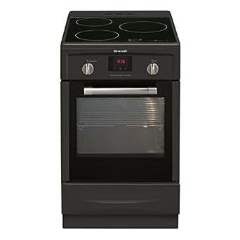 Brandt KI1250A Autonome Table de cuisson à induction A Noir four et cuisinière - fours et cuisinières (Autonome, Noir, Rotatif, Devant, LED, Table de cuisson à induction)