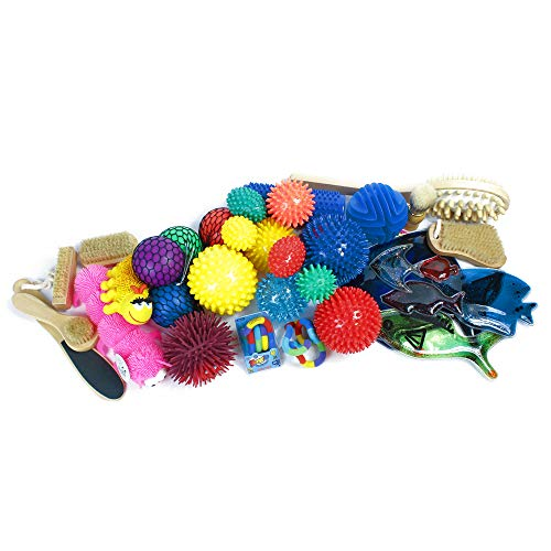 Juego de accesorios para estimulación sensorial (40 piezas)