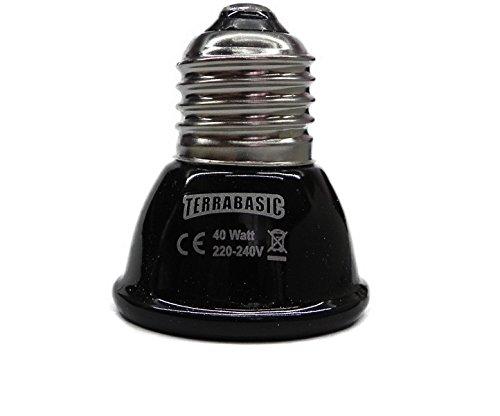 TerraBasic Keramik - Heizstrahler 40 Watt