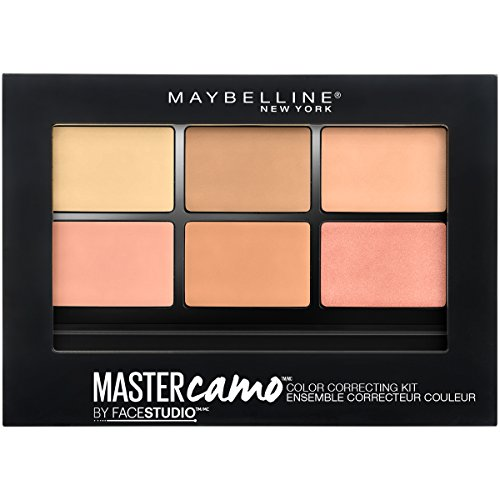 Camo Make-up-kit (Maybelline New York facestudio Master Camo Farbe Correcting Kit, medium)