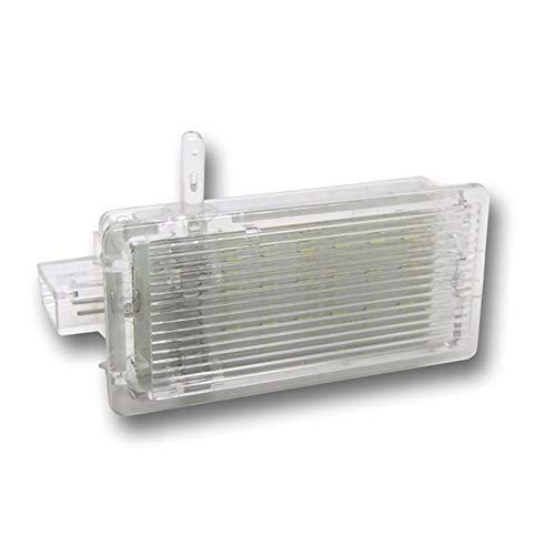 BOOMBOOST 1pc LED Voiture pour BMW X5 E46 E53 E81 E82 E83 X1 E87 Facelift E92 X3 F25 Mini R50 Free Error 18 LED de Coffre Bagages démarrage Boîte à Gants Lampe