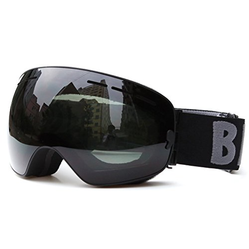 Benice-Gafas esquí deportes gafas snowboard doble