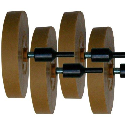 Preisvergleich Produktbild 4 Zierstreifen Radierer Folienradierer mit Adapter 88mm