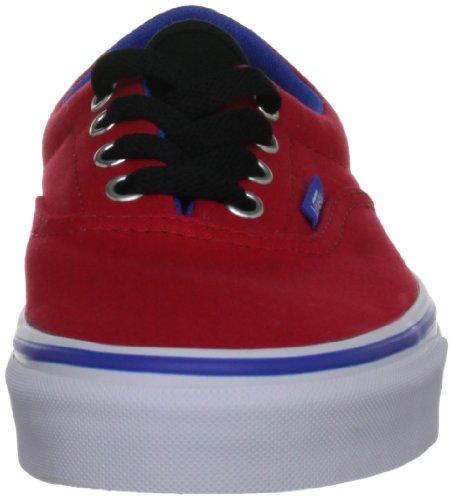 Vans  Era, baskets - skateboard mixte adulte Rouge - Rot (Red/Princess Blue)