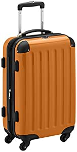 HAUPTSTADTKOFFER - Alex - Valise à Main Orange Brillant TSA 55 cm 42 litres