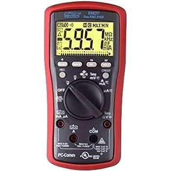 BM257 Digital multimeter LCD 6000 Bargraph24 segm 40x/s 5x/s BM257S BRYMEN