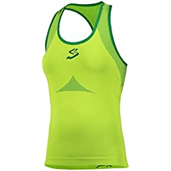 Spiuk Anatomic Maillot, Mujer, Verde, M