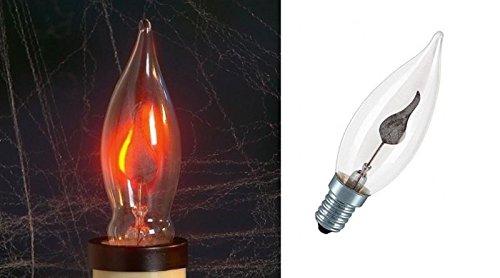 8008431042202 ********** lampadina effetto fiamma viva votiva attacco e 14 3 w fuoco per presepio presepe