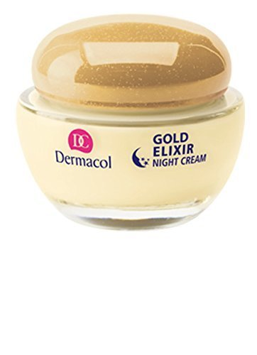 GOLD ELIXIR CAVIAR NIGHT Rejuvenecedora Caviar crema de noche con Omega 3 * 6, 50 ml Made in Czech Republic