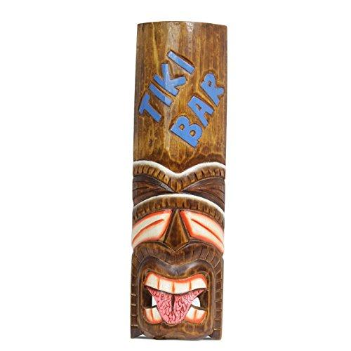 Madera-pared-mscara-mscara-de-Hawaii-mscara-mscara-Tiki-Bar-madera-50-cm-n-15