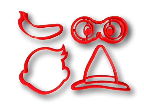 Jungle Cookie Cutter Set - Monkey Cookie Cutter