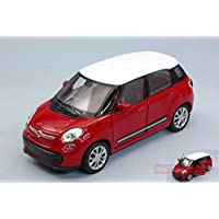 WELLY WE38513P FIAT 500L 2013 RED cm 11 MODELLINO DIE CAST MODEL