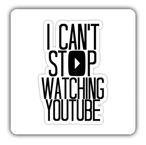i-cant-stop-watching-youtube-drinks-coaster-perfect-present