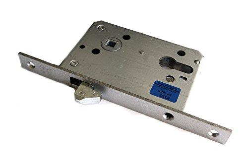 BKS Einst.Porta scorrevole serratura n. 0375PZW 8mm noce, M. ganci caso, 20x 205mm kantnickelsilber, 03750014,
