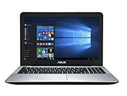 Asus A555LF-XX366T 15.6-inch Laptop (Core i3-5010U/4GB/1TB/Windows 10/2GB Graphics), Matte Silver and Black