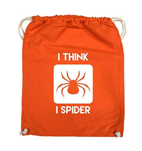 Schwarz THINK Comedy Bags Pink 37x46cm Farbe SPIDER I Orange I Weiss Turnbeutel wpgn8pBqC
