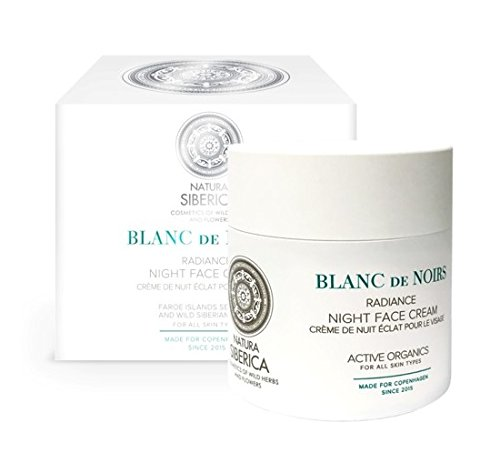 Natura Siberica Copenhagen Blanc de Noirs Radiance Night Face Cream 50ml by Natura Siberica