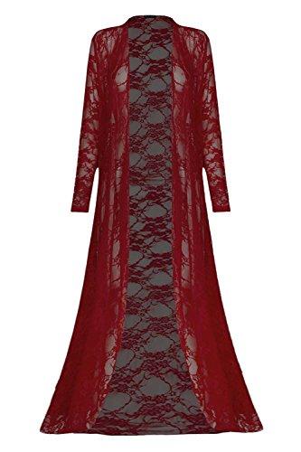 Fashion Star -  Cardigan  - Maniche lunghe  - Donna Wine