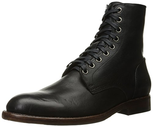 FRYE Mens Will Lace Up Combat Boot Black