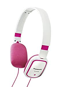 Panasonic cuffie stereo oltre cuffie rosa bianco rp for Panasonic cuffie