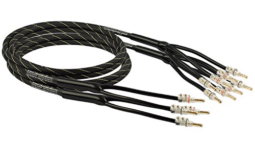 Preisvergleich Produktbild Goldkabel edition ORCHESTRA GOLD Bi-Wire Set 3, 0m Kabel
