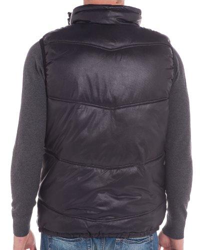 BLZ Jeans - Doudoune homme tendance noire Noir
