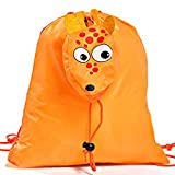 bd7b55163 Lote de 20 Mochilas Plegables Animales Jirafa. Color Naranja - Mochilas  Escolares, Guarderías, Colegios, Ofertas