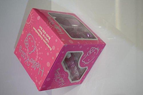 Preisvergleich Produktbild Hello Kitty Sparkle Geschenkset Eau de Toilette 15 ml, Badeschaum 50 ml, Duschgel 50 ml, Bodylotion 50 ml, Handyanhänger
