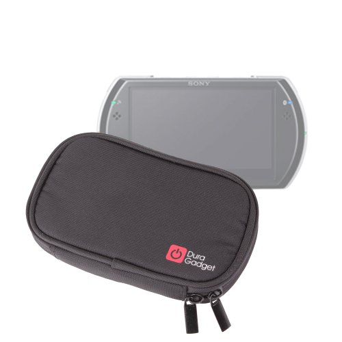 DURAGADGET Estuche NEGRO De Espuma De Memoria Para Sony PSP Go/E1000 - Mayor Protección