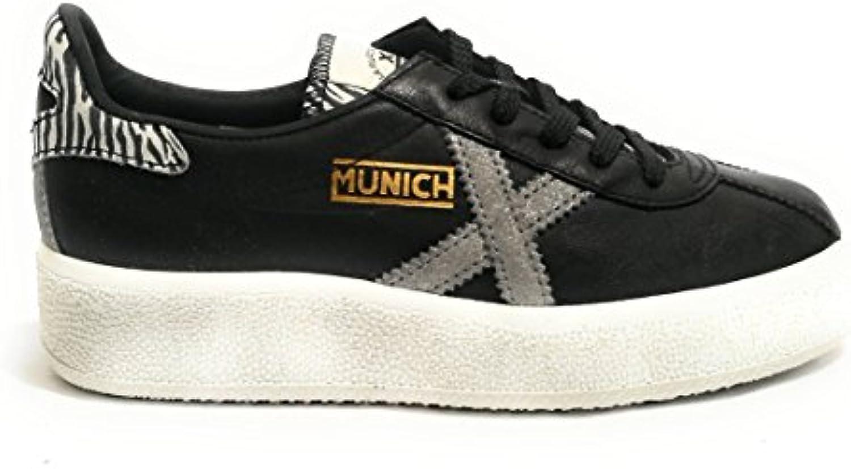 Munich Scarpe Donna scarpe da ginnastica MOD. BARRU Sky in Pelle col. Nero D19MU02 | Per La Vostra Selezione  | Gentiluomo/Signora Scarpa