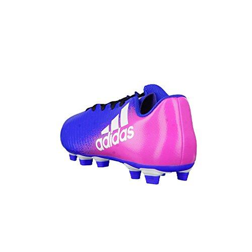 adidas X 16.4 Fxg, Chaussures de Football Compétition Homme Bleu (Azul/ftwbla/rosimp)