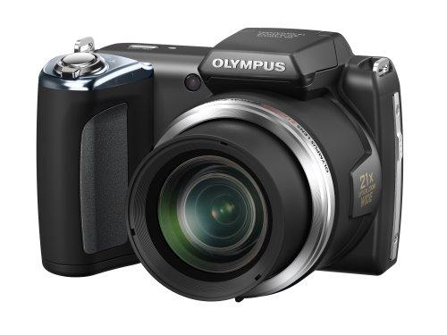 Olympus SP-620 UZ Fotocamere digitale compatta sensore 16 megapixel, ultrazoom grandangolare 21x (25-525mm)