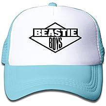 Feruch Macthy Beastie Boys Band Logo Boy s Mesh Snapback Hat Cap Sky Blue adf1c77bf52e
