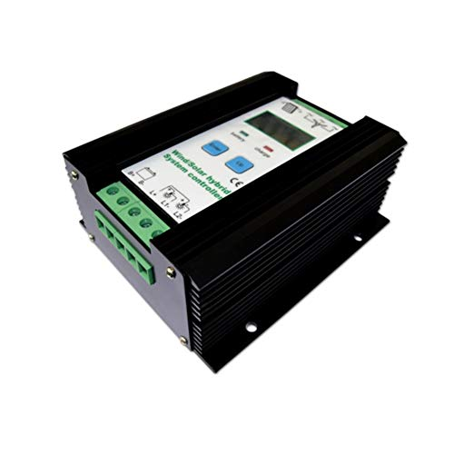 1000 Watt Wind Solar Hybrid Controller 600 Watt windkraftanlage 400 Watt Solarpanel Laderegler 12 V / 24 V Automatische Batterie Controller mit Großen LCD Display Solarladeregler - 12-volt-systemsteuerung