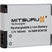Mitsuru® Batteria di riserva per Panasonic DMW-BCM13 DMW-BCM13E DMW-BCM13PP. adatta a Panasonic Lumix DMC-FT5 DMC-TS5 DMC-TZ40 DMC-TZ41 DMC-ZS30