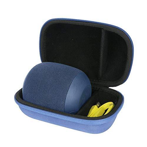 pour Ultimate Ears UE WONDERBOOM 1 / Wonderboom 2 Enceinte Bluetooth étanches EVA Dur Cas étui de Voyage Housse par Khanka(Bleu)